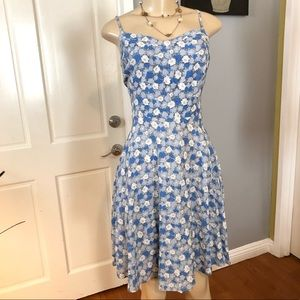 •OLD NAVY• Fit and Flare Knee Length Dress